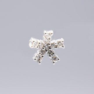 Orecchini Damiani diamanti oro stella