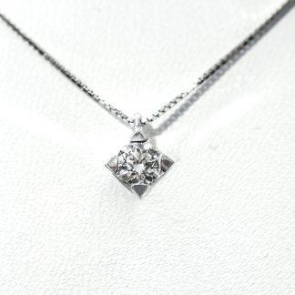 Collana con Punto Luce Diamante